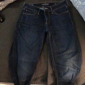 Dark wash Ava Skinny jeans
